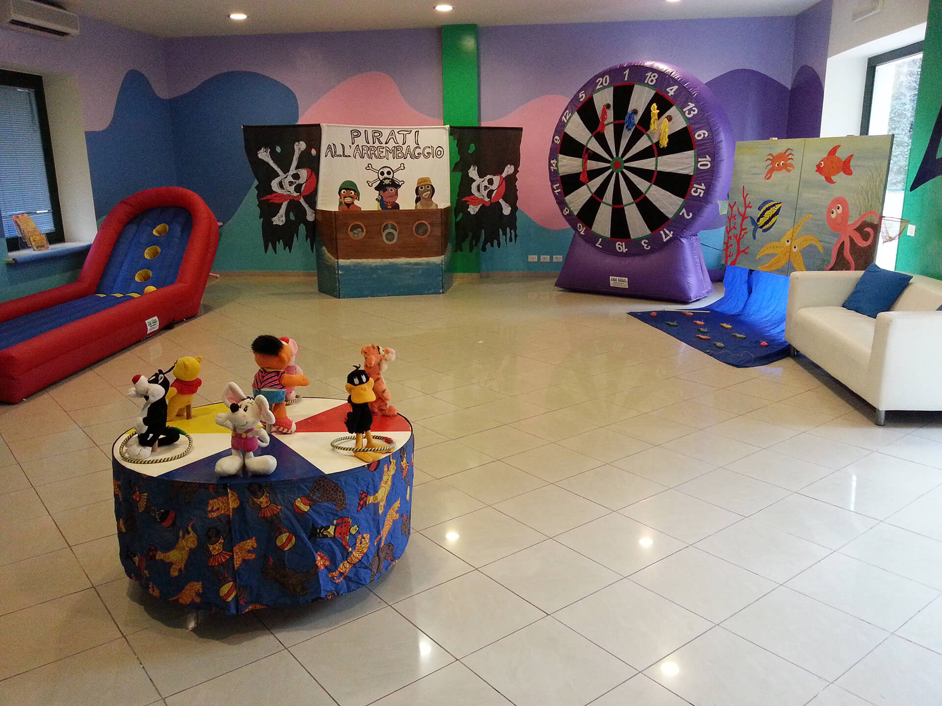 Festa a tema Lunapark
