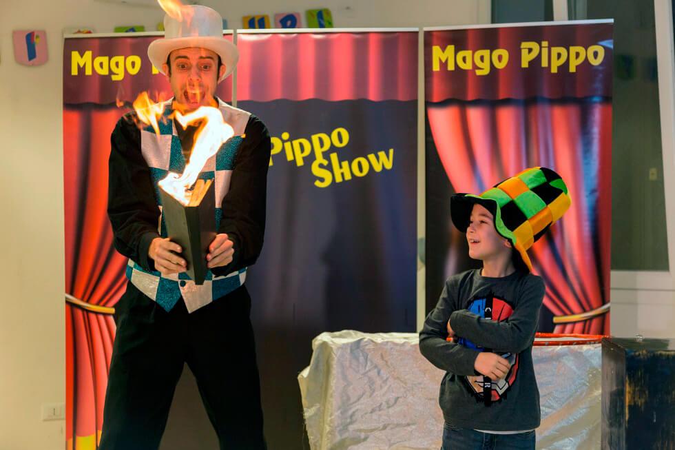 Spettacoli di magia per una festa per bambini