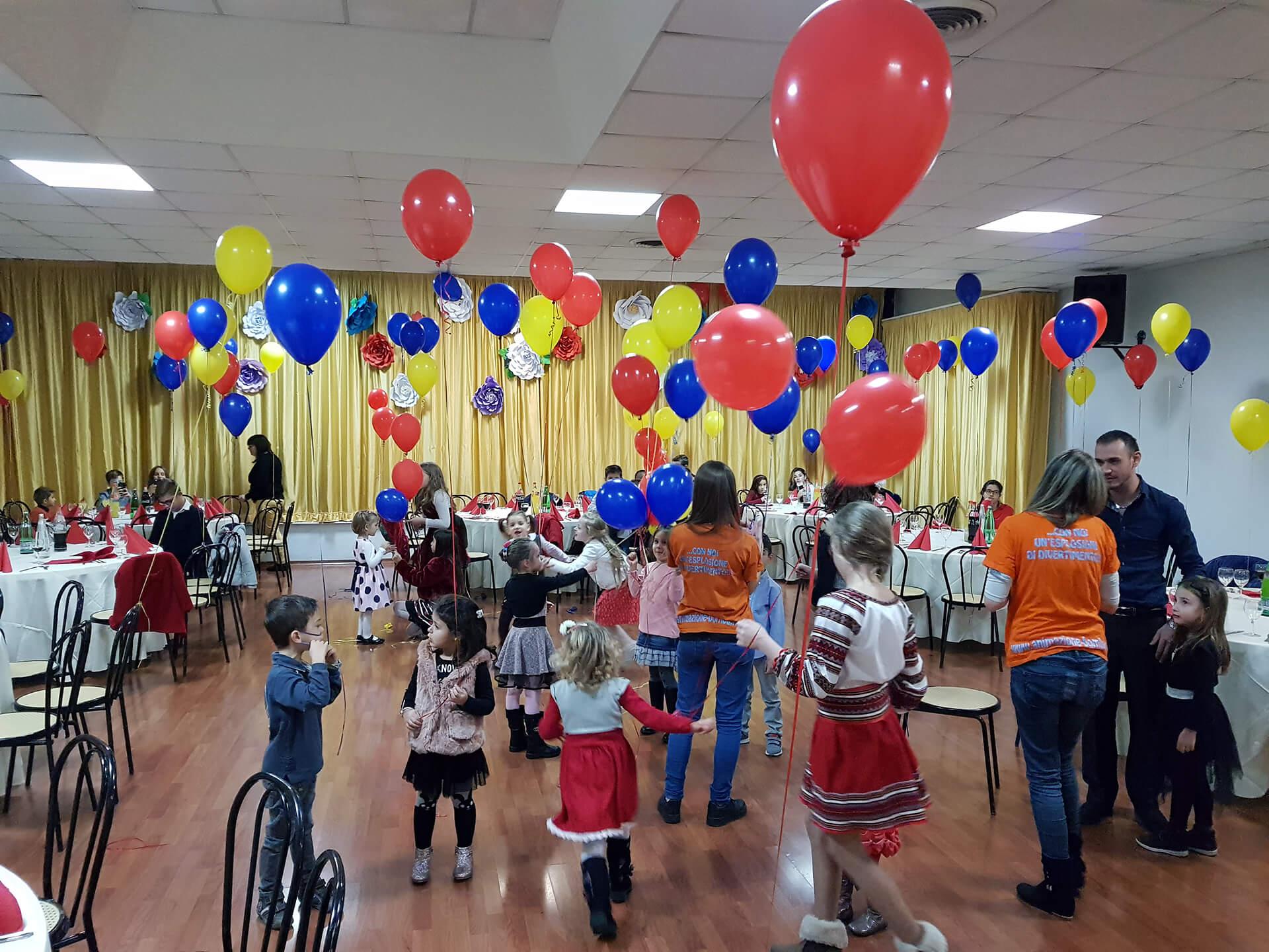 Come allestire la sala per una festa di compleanno di bambini