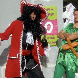 Capitan Uncino e Peter Pan
