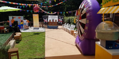 festa a tema lunapark roma